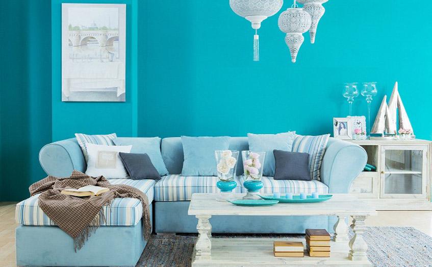 Tươi mát và nhẹ nhàng với nội thất mang cảm hứng biển xanh