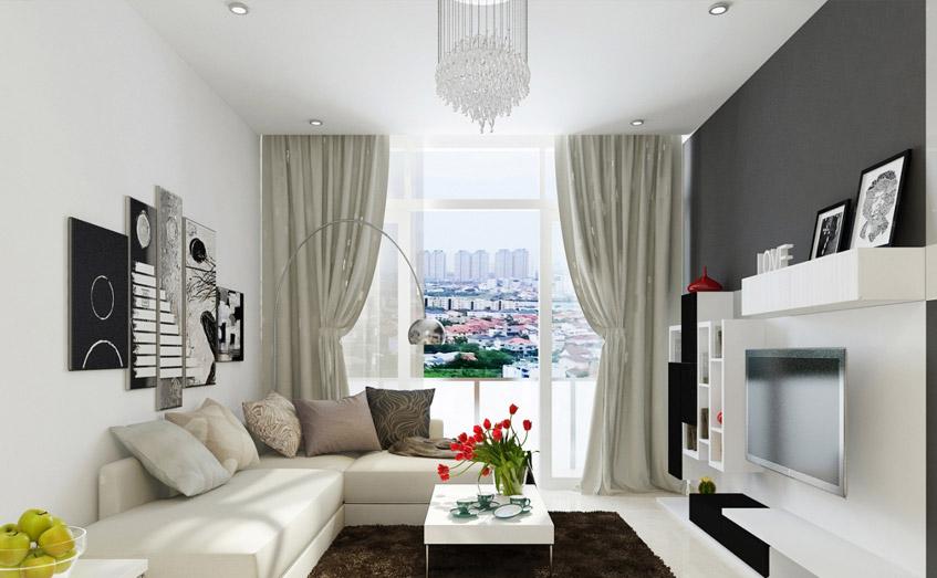 Sự hài hòa, tạo điểm nhấn, cân bằng, tính nhịp điệu và tỷ lệ là những nguyên tắc vàng trong thiết kế nội thất.