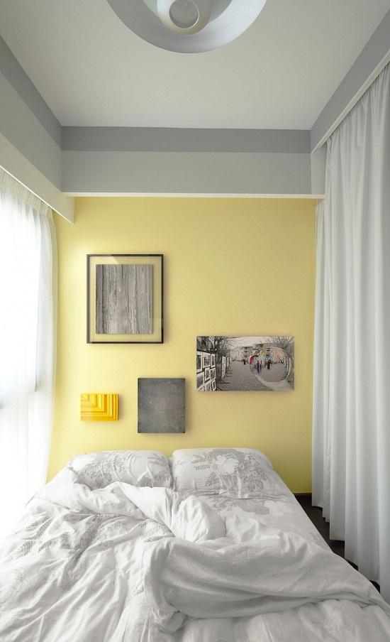Ngoài việc sử dụng rèm cho cửa sổ, nó còn được sử dụng để tạo một không gian riêng tư cho phòng ngủ.