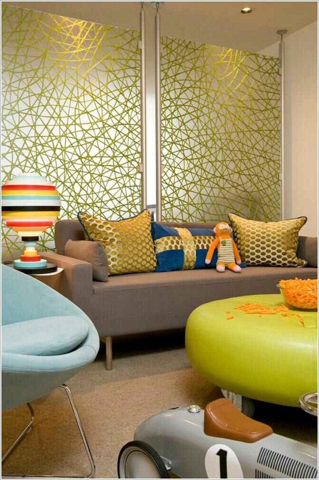 những bức tranh hay những tấm thảm sở hữu hình dáng và màu sắc khác nhau