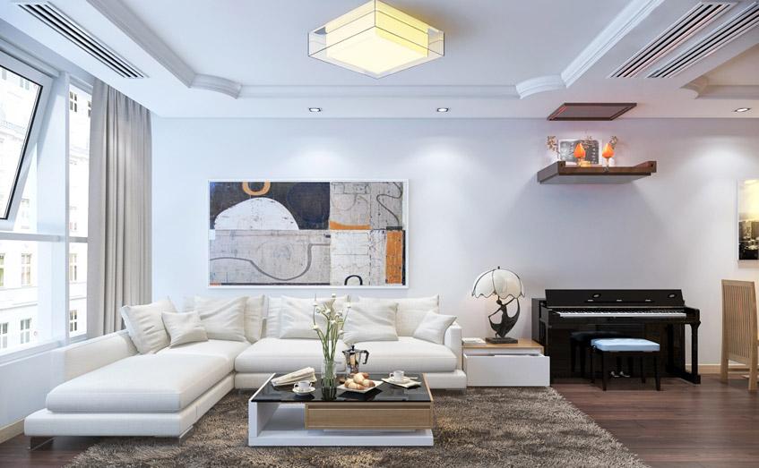 Những thiết kế đơn giản giúp không gian rộng và sáng hơn