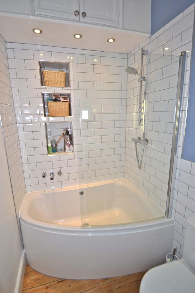 Thiết kế phòng tắm trong góc nhỏ hiệu quả