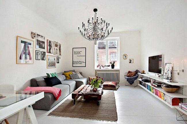 Khi chọn đồ nội thất với thiết kế kiểu dáng đơn giản, đồng nghĩa với việc bạn tha hồ lựa chọn các mòn đồ trang trí màu sắc, tạo nên một tổng thể thiết kế nội thất đẹp, bắt mắt.