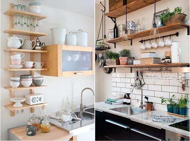 Sở hữu một không gian nhà bếp eo hẹp dạy bạn cách làm quen với việc tận dụng chúng một cách triệt để. Vậy nên, bạn từng bỏ qua những mảng tường trống.