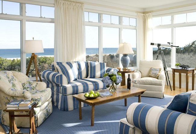 Phong cách đồng quê cũng có những quy tắc bố trí nội thất khá cầu kì và chặt chẽ.