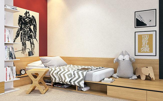 Bộ sưu tập dưới đây sẽ cung cấp cho bạn những mẫu giường hoàn hảo cho cả bé trai và bé gái.
