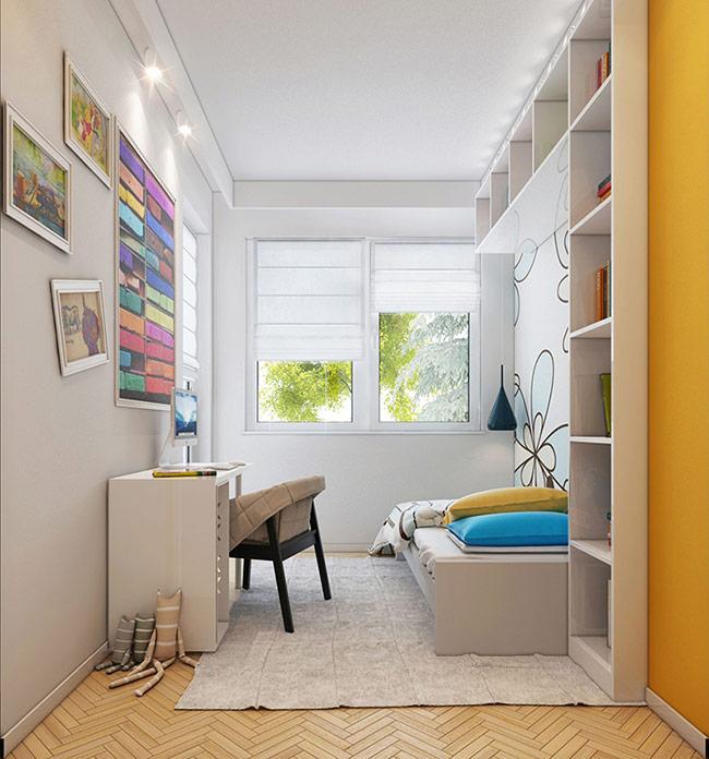 Những thiết kế giường ngủ hiện đại cho cả bé trai và bé gái