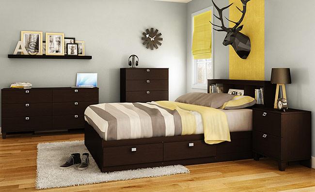 Màu sắc là một điểm không thể bỏ qua khi lựa chọn giường ngủ cho trẻ
