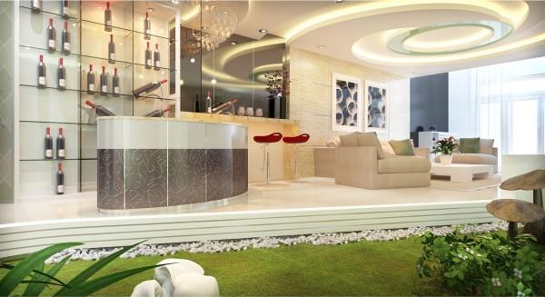 Có nhiều loại đá được ứng dụng vào thiết kế nội thất như đá hoa cương, đá granite, đá marble