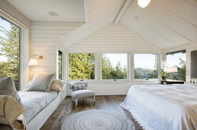 Những chiếc thảm tròn xinh xắn cho phòng ngủ