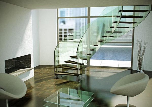 Thiết kế cầu thang phù hợp cho nhà phong cách sang trọng