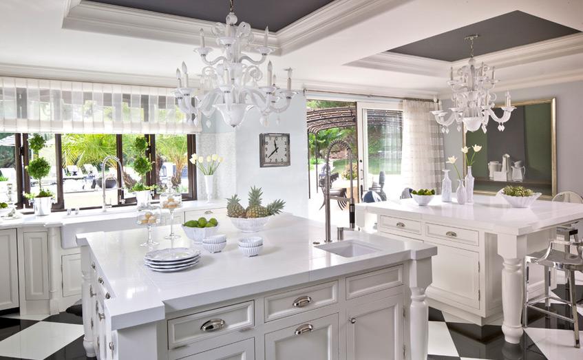 Những loại rèm giúp tăng sáng cho gian bếp | Thiết kế nội thất