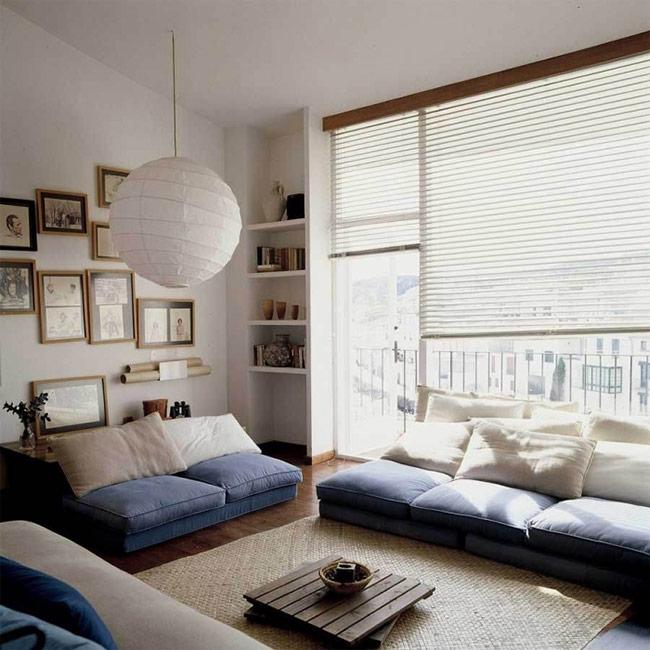 Đặc điểm chung của các căn phòng Nhật là tạo ra các khung cửa sổ, cửa ra vào lớn bao quanh.