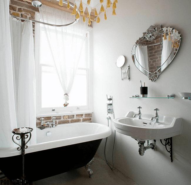 những ý tưởng phòng tắm yêu thích chính là việc chọn những chiếc gương có hình dạng độc đáo là một cách đơn giản và hiệu quả để gây ấn tượng cho một phòng tắm với bất kỳ kích thước và phong cách nào.