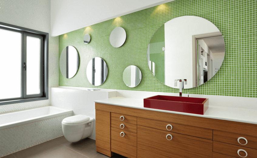 những chiếc gương đa dạng để chúng bổ sung cho nhau thay vì cạnh tranh với nhau.