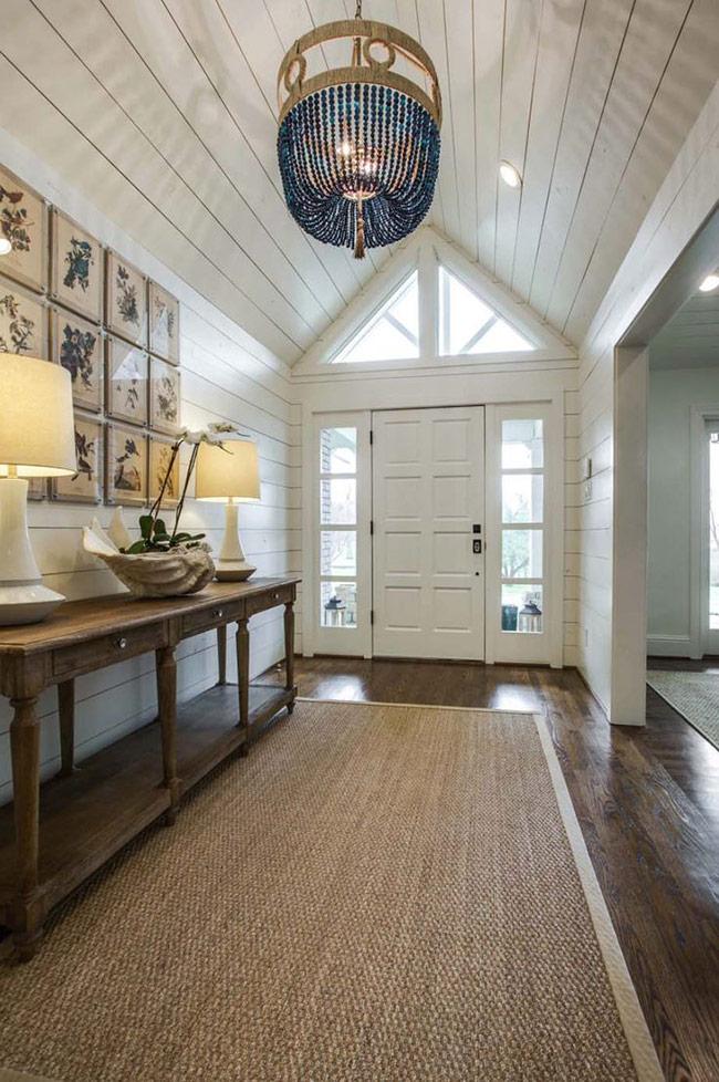 căn phòng được ốp gỗ shiplap bạn luôn cảm nhận được sự mộc mạc và ấm cúng của chất liệu gỗ tự nhiên