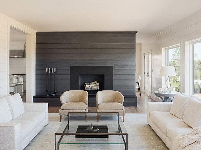 Không gian sống vô cùng ấm cúng nhờ gỗ ốp tường siêu đẹp