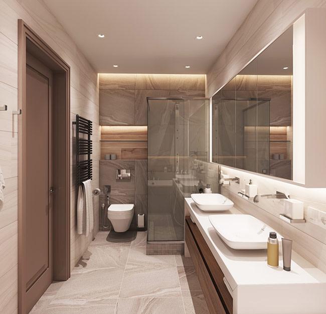 phong cách tối giản và vượt thời gian được hòa trộn với những thiết kế quyến rũ