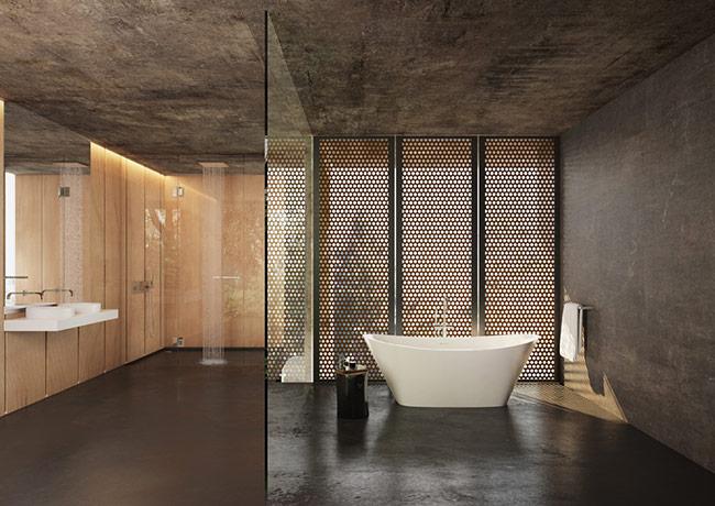 Thiết kế phòng tắm phong cách và độc đáo