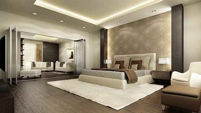 Thiết kế nội thất phòng ngủ phải thoáng khí