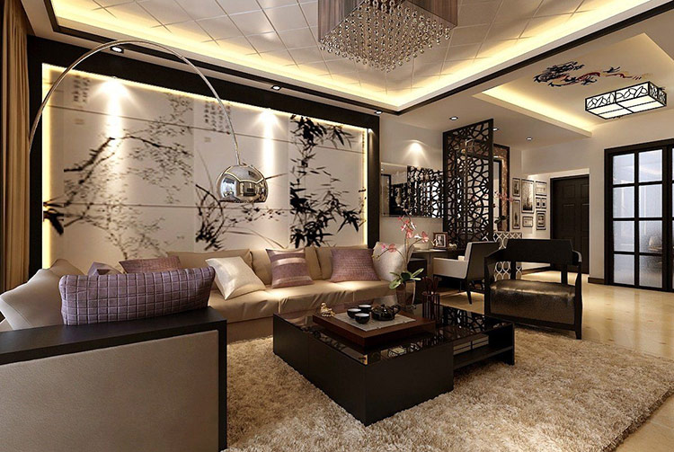 Thiết kế nội thất biệt thự theo phong cách Á Đông