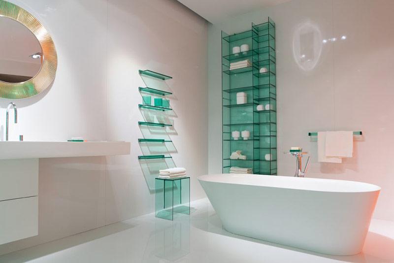 Đúng là các bồn tắm có hình elip không phải là loại tiết kiệm không gian nhất nhưng thực sự chúng cũng không lãng phí quá nhiều không gian so với các loại bồn khác.