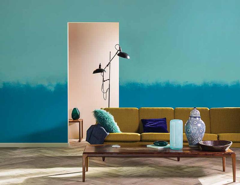 Thể hiện dấu ấn cá nhân trong thiết kế nội thất bằng màu sơn