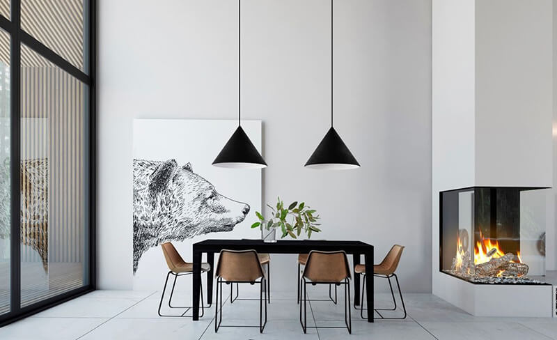 4 phong cách thiết kế nội thất biệt thự mini đang thịnh hành