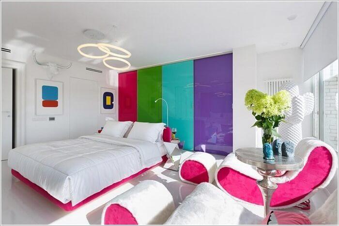 Làm sao để thiết kế nội thất căn hộ theo xu hướng color block?