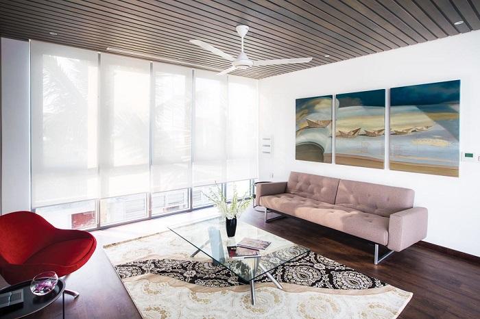 Màu sắc thiết kế nội thất căn hộ trong Ngũ hành